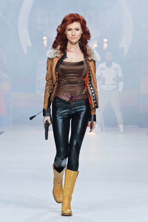 Anna Chapman aka Russian spy Black Widow (Natalia Romanova)