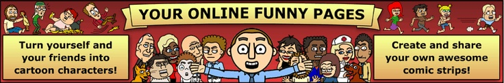 This is an awesome site to make your own comic strips. We'll have a how-to tutorial on November 3rd!
