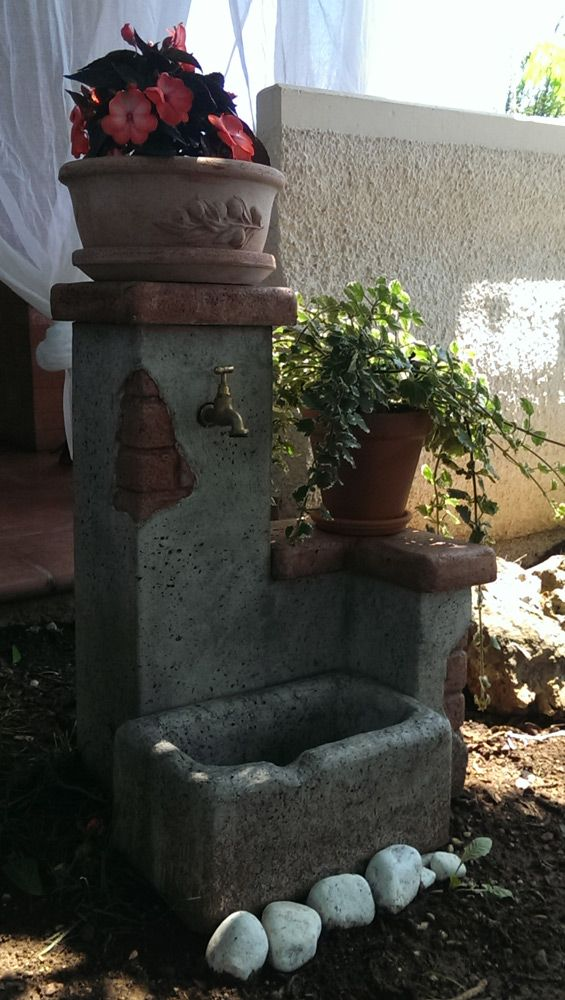 Fontane da giardino fonte del casale easy antichizzata. Località: Codroipo (Udine).