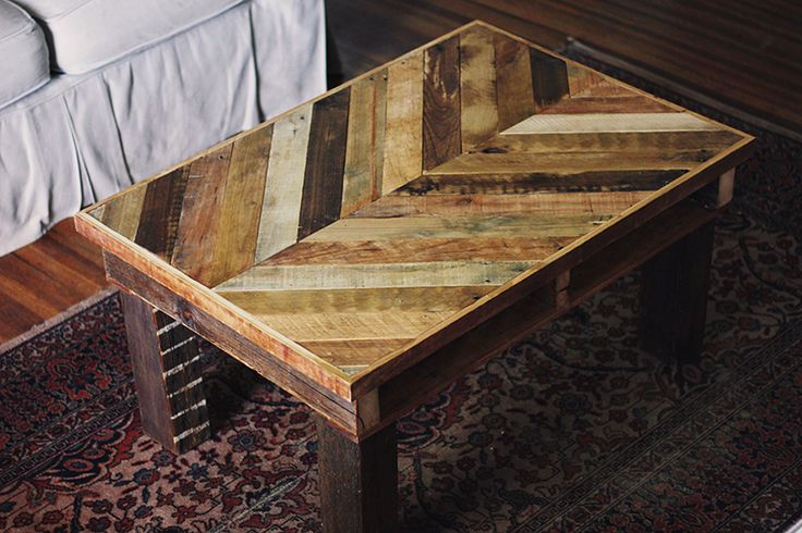 Pallet Wood Coffee Table | The Merrythought