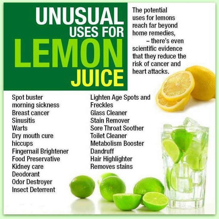 Unusual uses for lemon juice good to know fun interesting facts - Unusual uses for lemons ...