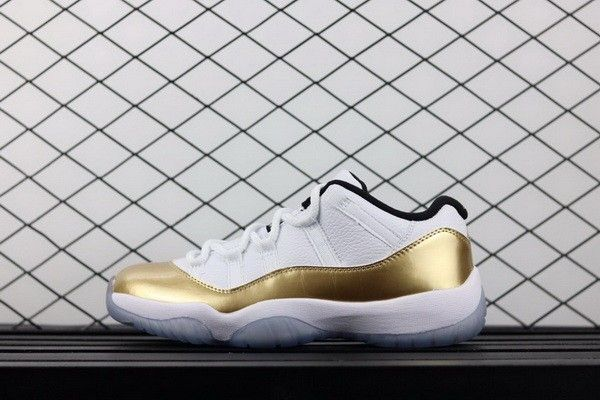 finest selection cfa52 dc8e3 How To Buy Air Jordan 11 Low White Gold Olympic