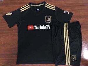 2018-19 Cheap Youth Kit LAFC Home Replica Black Suit  BFC989 ... 1a2cdc844