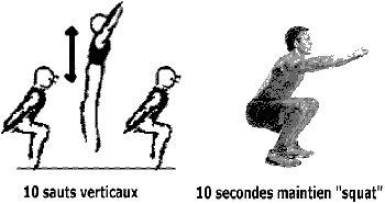 vitesse en rugby et exercice detente