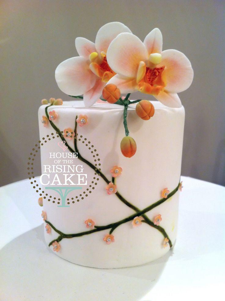 Orchid Mini Cake   Display | By House Of The Rising Cake (still Surly).  Schöne TortenBackenEinfachHübsche KuchenSchöne ...
