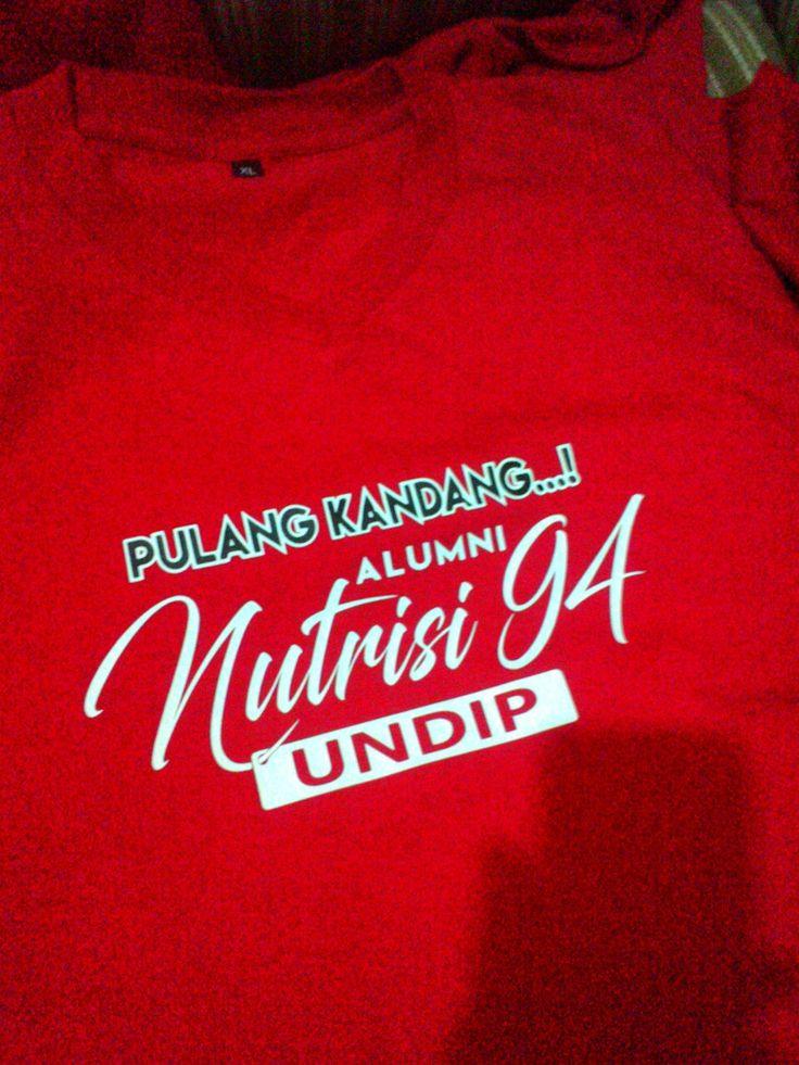 Pulang Kandang...! Alumni Nutrisi 94, UNDIP @2-BiE apparel