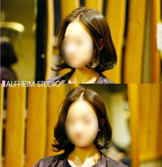 새학기엔 단발머리 c컬펌 이쥬 ★ : 네이버 블로그