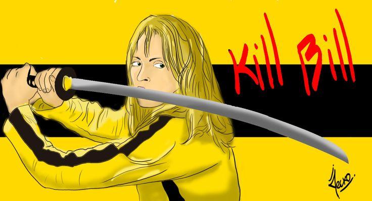 Kill Bill, JECKO JC on ArtStation at https://www.artstation.com/artwork/wO5Ng