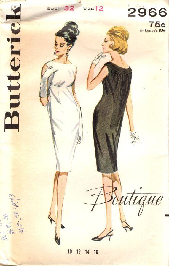 85 besten VINTAGE SEWING PATTERNS Bilder auf Pinterest | Vintage ...