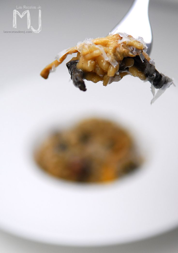 Risotto de setas / Mushrooms risotto