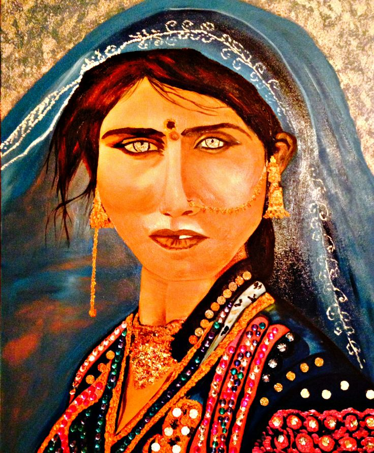 Bhil Tribal Woman