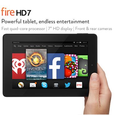Win a Kindle Fire HD 7 Tablet