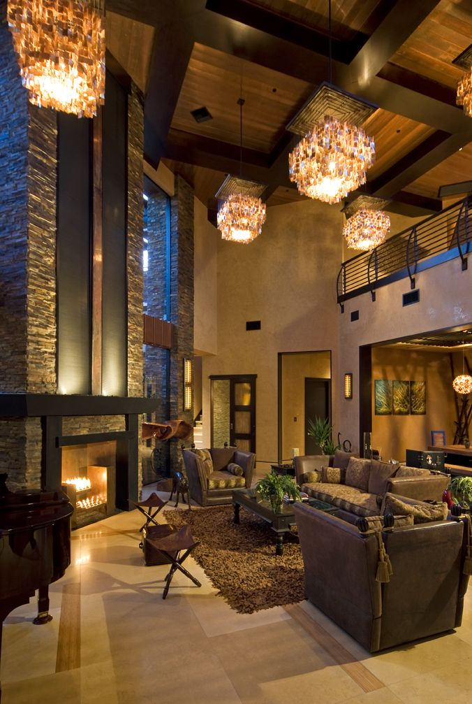 Amazingly Tall Ceilings And Warm, Inviting Colors By Las Vegas Based  Pinnacle Architectural Studio Part 97