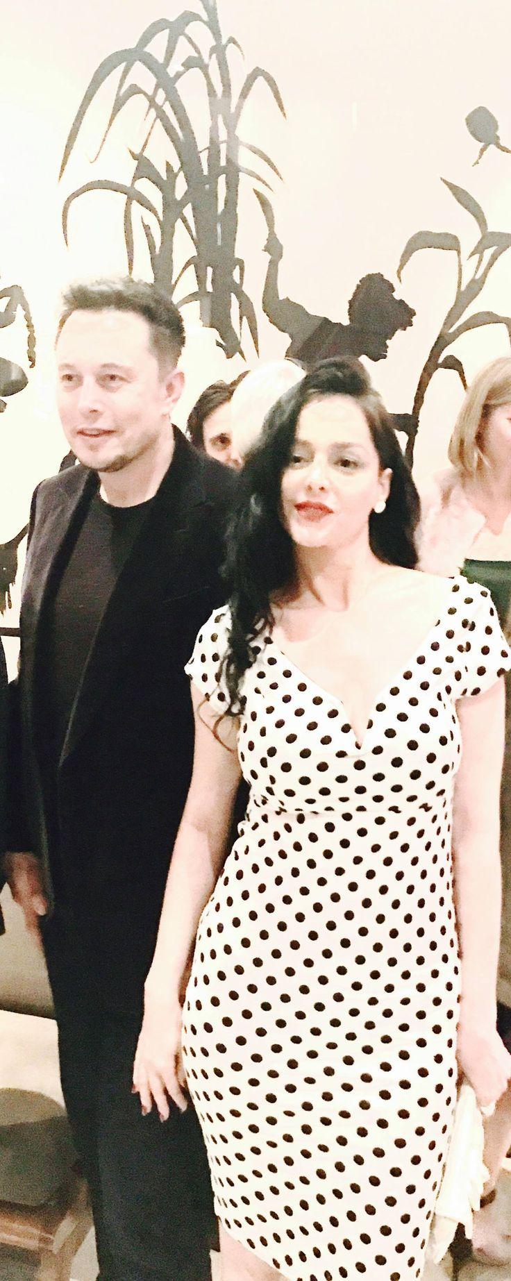 Despina Mirou & Elon Musk