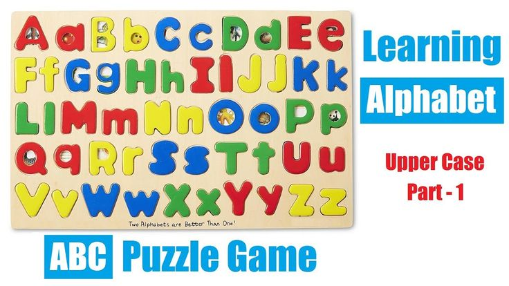 Learning Alphabets for Kids with ABC Matching Puzzle Game  Learn the alphabet with this fun wooden ABC matching puzzle game. Arham is solving upper case (capital) letters in this video and there is an another learning alphabet for kids video which covers lower case letters.  Upper Case ABC Matching Puzzle helps with:  ✅ Fine Motor Skills: Promotes dexterity, hand/eye coordination, and manipulation. ✅ Problem Solving: Introduces logic, matching, spatial relationships, critical thinking, and…