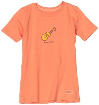 Life is Good Girls` Crusher Tee Rock Star Guitar $9.36: Crusher Tees,  T-Shirt, Athletic Shirts,  Tees Shirts, Rocks Stars, Stars Guitar, Rock Stars, Girls Athletic, Tees Rocks