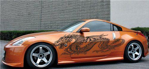 Car Dragon Decals Car Vinyl Side Graphics Dragon Nissan