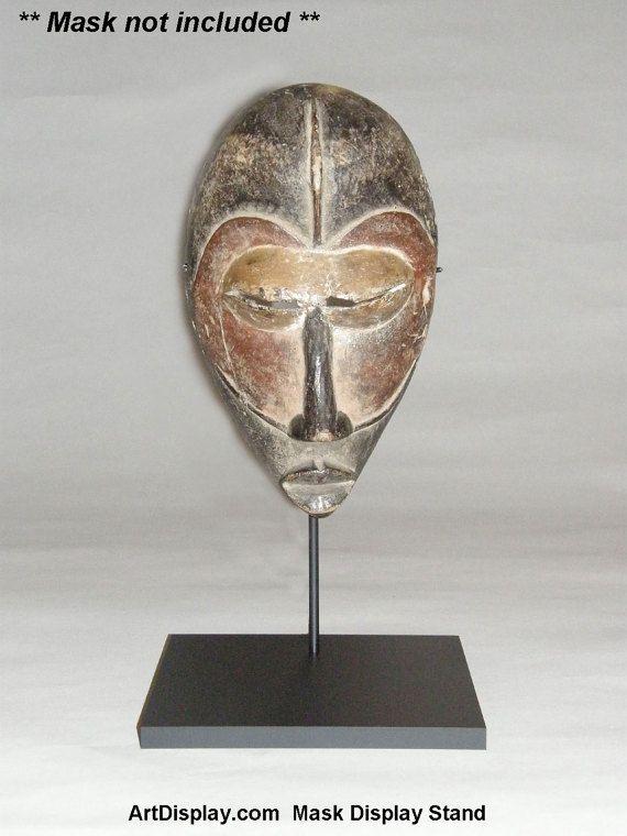 Mask Artifact Display Stand Holder TA-127B by ArtDisplayEssentials