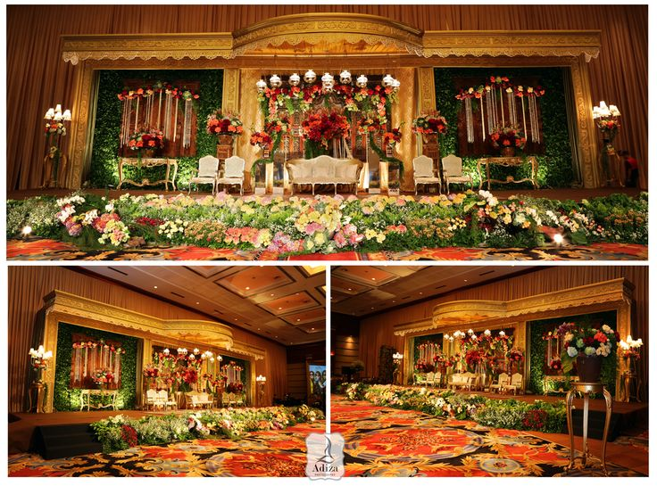 Javanese wedding decoration Decorator : Agung Decor Venue : Balai Kartini