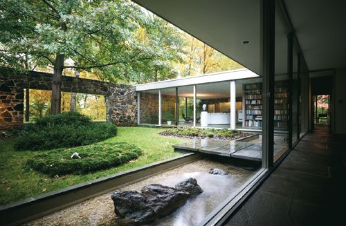 Marcel Breuer - Hooper House II, Baltimore, Maryland, 1959.