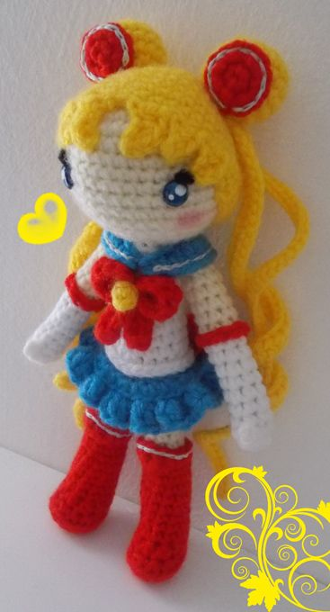 Amigurumi Sailor Moon : 1000+ images about Sailor moon crochet on Pinterest ...