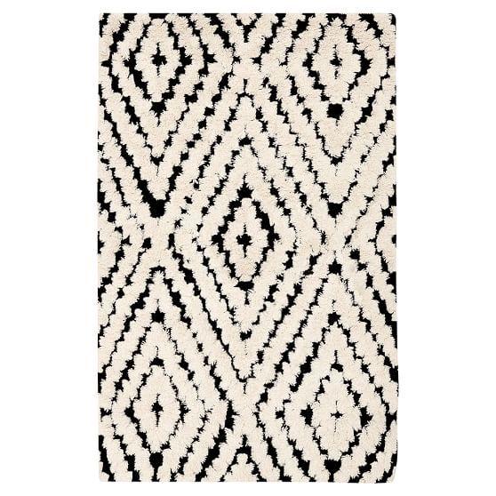 699 8 X 10 Rug Kaleidoscope Kilim Rug 3x5 Black White
