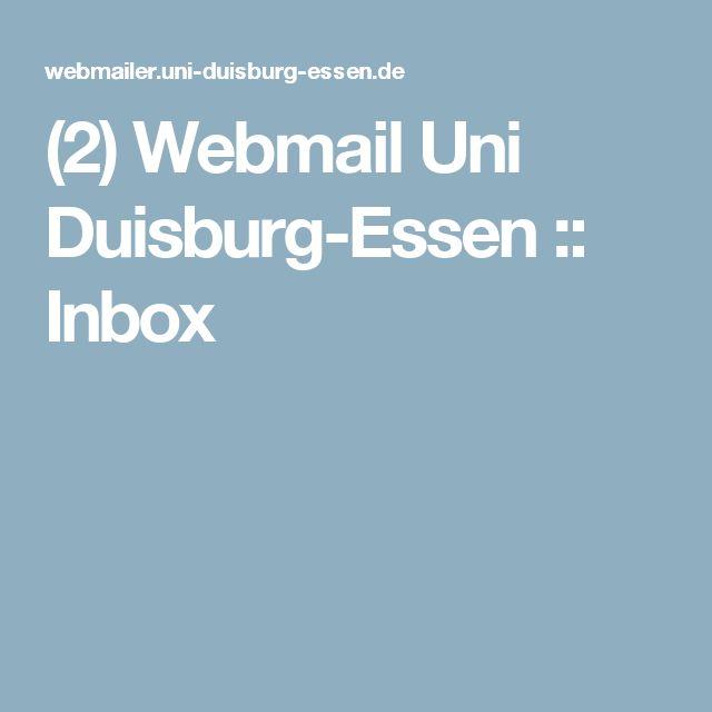 (2) Webmail Uni Duisburg-Essen :: Inbox