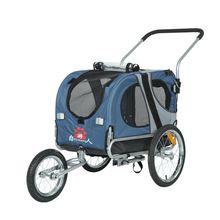 Reboques da bicicleta do carro pet dog pet travel reboques equipado com um carrinho de criança dobrável passeio demolição(China (Mainland))