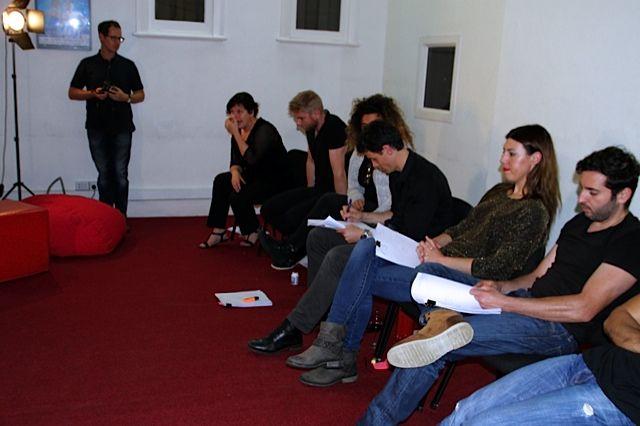 Impedimenta reading at the HubStudio