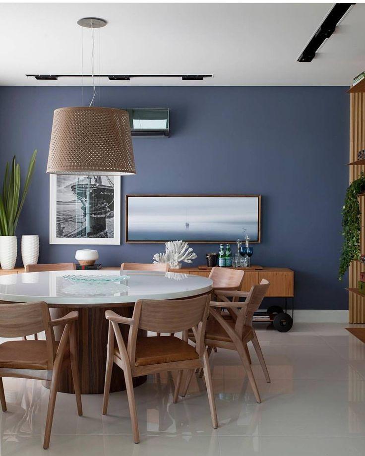 """1,186 curtidas, 6 comentários - Arquiteta q ama o que faz!!! (@dileiabezerra_arquiteta) no Instagram: """"Composição linda nesta sala de jantar por @julianapippi"""""""