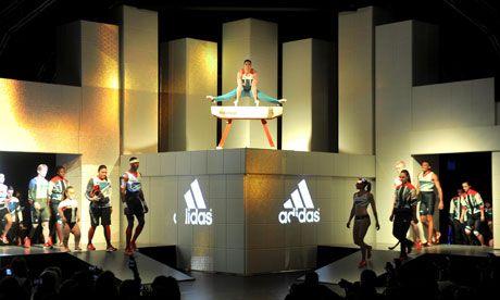 Adidas Olympic clothing made in 'sweatshop'