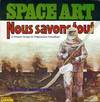 """Le premier groupe de vulgarisation scientifique""- SPACE ART"