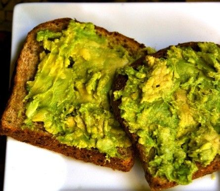 An Avocado Toast That Will Knock Your Socks Off