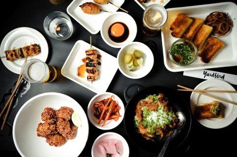 yardbird. yakitori. fried things. 33-35 bridges street sheung wan.