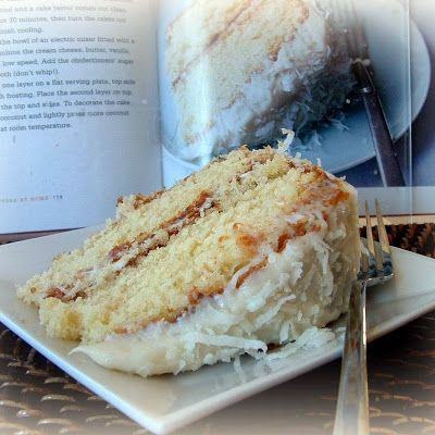 Ina Garten's Coconut Cake. My Review: For a girl who does not love coconut cake, I sure ate the heck out of this one! As with every recipe Ina Garten produces, this one is incredible! No longer coated with yucky 7-Minute Frosting, I have truly found THE coconut cake recipe! Rich and with LOTS of butter! : ) Rating: (Come on, it's Ina's after all!)