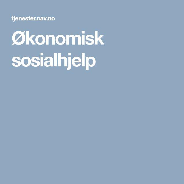 Økonomisk sosialhjelp