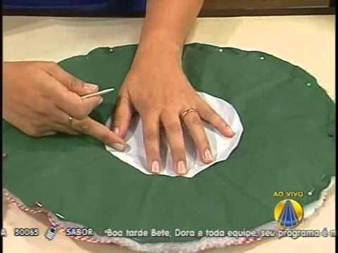 Porta Panetone em Patchwork - Arte Brasil - YouTube