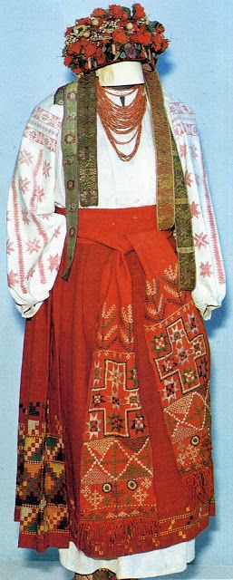 FolkCostume: Embroidery from Northern Left-Bank Ukraine, Sumy, Chernyhiw and Starodub regions
