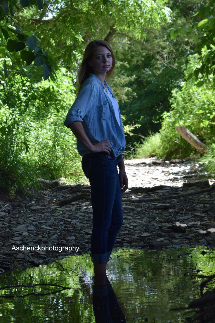 River Senior Photography