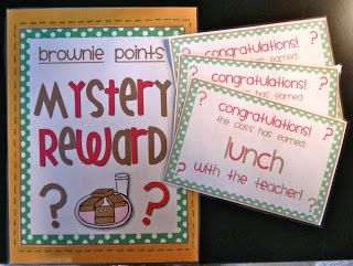 Mrs. Heeren's Happenings: Cookie Compliments & Brownie Points