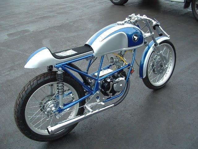 Honda 50cc Cafe Racer - Beautiful Motorcycles