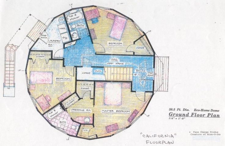dome homes   ... frame kit may be used to build an earth sheltered home with ten sides