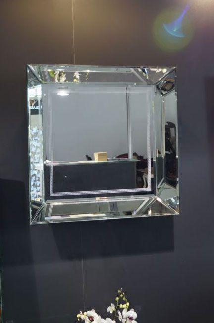 зеркало Mi-05 - Шкло-Люкс Ярослав Фрончак - лазерная 3d гравировка внутри стекла