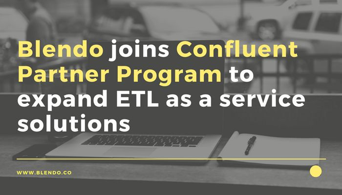 Today we're super excited to announce that Blendo has joined the Confluent Partner Program to expand ETL as a service solutions and help drive the adoption and implementation of Apache KafkaTM. Nowadays organizations are being transformed rapidly by the utilization of data that increase and vary day by day. Companies