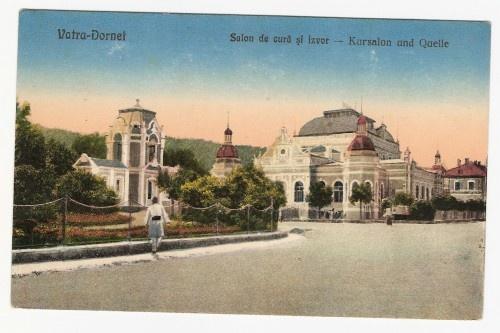 Vatra Dornei - Salon de cura si izvor - antebelica