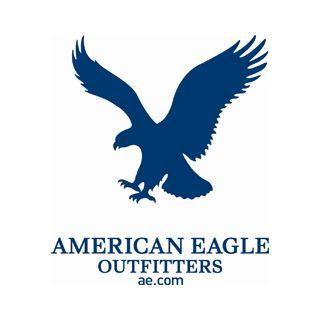 アメリカン・イーグル・アウトフィッターズ(American Eagle Outfitters)のロゴ:ワシの立ち位置 | ロゴストック