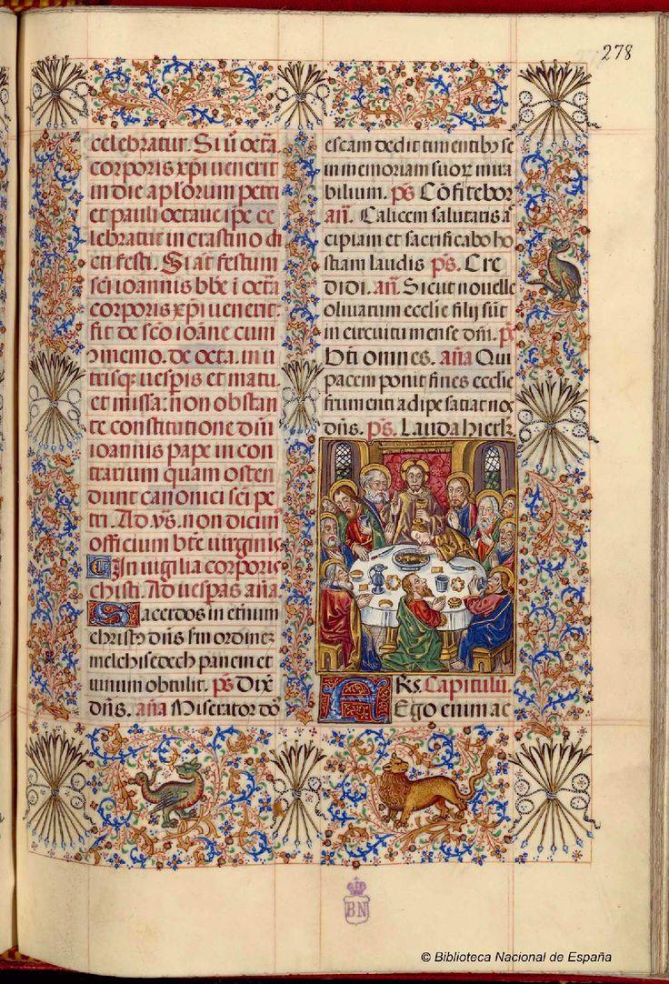 Breviario de Isabel la Católica. Manuscrito — 1495?