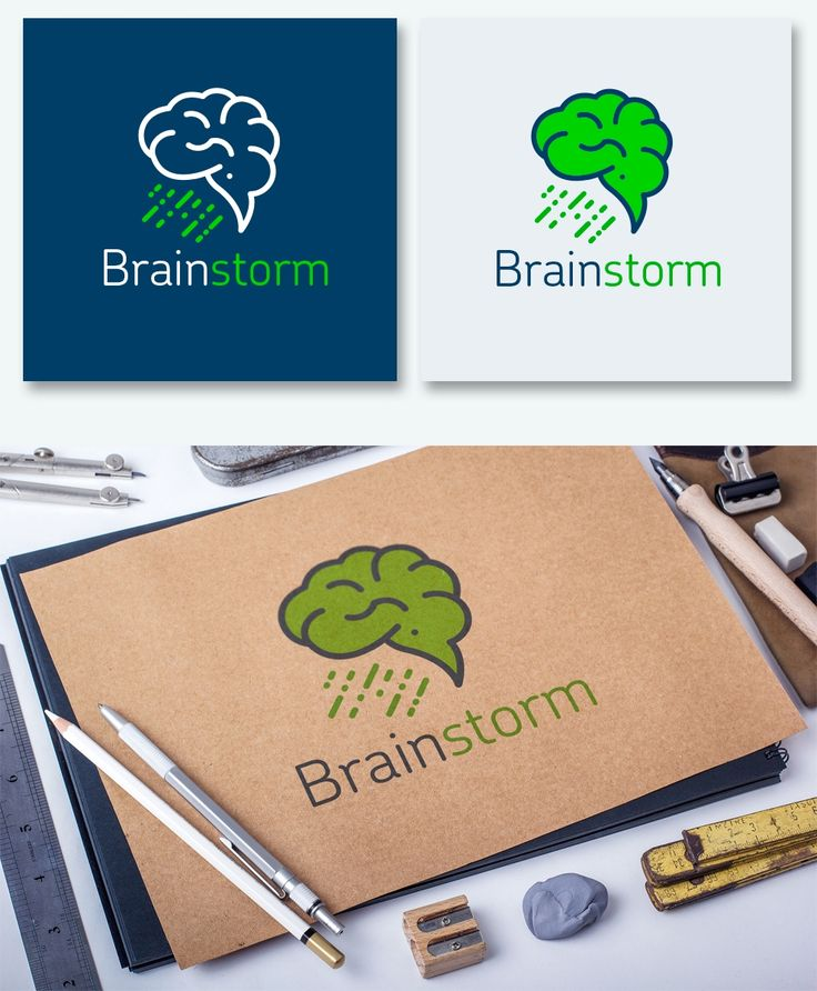 Логотип Brainstorm / Портфолио / Tenfly