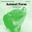 """New Review: """"Seriously the best resource I've purchased!! I taught Animal Farm in my 8th grade classes and these worksheets were PHENOMENAL! I particularly liked the summary sheet set up which can be easily used with depth and complexity icons. Great common core resource, would highly recommend!"""""""