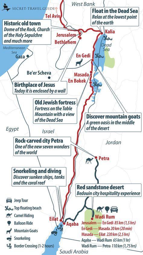 Jan 29 Roundtrip to Israel and Palestine | Road Trip | Israel travel ...